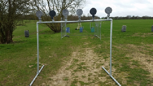 The 'Plate Rack' Rapid shooting station